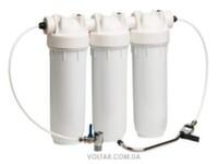 """Бытовой фильтр для воды Atlas Filtri Bravo DP TRIO 10"""" KIT"""