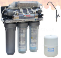 Обратный осмос Atlas Filtri Oasis DP Sanic UV с минерализатором и УФ лампой