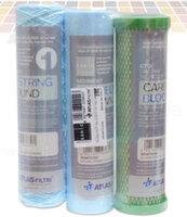 """Набор картриджей Atlas Filtri Oasis DP Sanic Set 10"""" для обратного осмоса (FA SANIC+CPP SANIC+CB VOC)"""