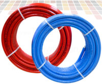 Труба металопластиковая в красной или синей изоляции Valsir Pexal 16 x 2,0 мм
