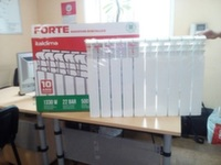Алюминиевый радиатор Italclima Forte 500/96