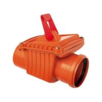 Обратный клапан канализационный Capricorn ABS d110