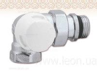 """Трехосевой кран-термостат радиаторный Caleffi 1/2"""" левый"""