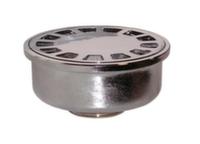 Трап круглый вертикальный латунный Ghidini d32В x d100 мм