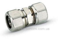 Муфта соединительная Bonomi d16(2,0) х d16(2,0)