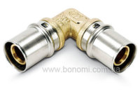 Колено пресс Bonomi d16(2,0) x d16(2,0)