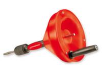 Профессиональное устройство для прочистки труб Rothenberger Rospi 6 H+E Plus (4,5 м) с ручным и электрическим приводом