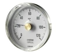 Термометр фронтальный накладной Cewal d63 0÷120°С