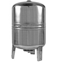 Гидроаккумулятор Cristal 100 л из нержавеющей стали вертикальный