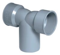 Двойной отвод для сифонов ПП Ostendorf Ø40х50х40