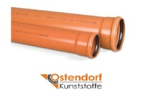 Труба для наружной канализации Ostendorf SN4 d125x500 мм
