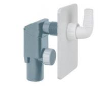 Сифон внутренний белый (пластик ABS) Go-Plast d40 для стиральной машины