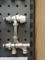 Блок нижнего подключения для секционных радиаторов Gross