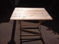 Стол деревянный раскладной 900x800x600