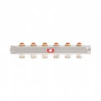 Коллектор для теплого пола Itap с запорными клапанами на 12 выходов