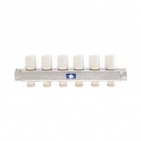Коллектор для теплого пола Itap с термоклапанами на 6 выходов