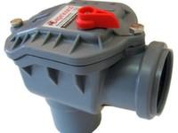 Обратный клапан канализационный угловой Capricorn ABS d50