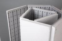 Маты теплоотражающие для теплого пола 20 мм х 25 кг/м3