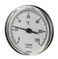 Термометр фронтальный Cewal d63 0÷120°С 5 см