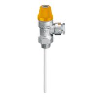 """Температурно-предохранительный клапан Caleffi Solar d15 х 1/2"""" 6 бар"""