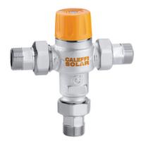 """Термосмеситель Caleffi Solar 1/2"""" с защитой от ожогов 35°С - 55°С"""