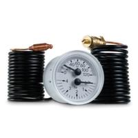 """Термоманометр капилярный Cewal TI 40 P d40 1/4"""" 0÷120°С 4 бар L=1500 мм"""