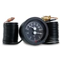 """Термоманометр капилярный Cewal TI 52 P d52 1/4"""" 0÷120°С 6 бар L=1500 мм"""