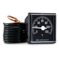 Термометр капилярный квадратный Cewal 45x45 мм 0÷120°С L=1500 мм