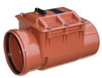Обратный клапан канализационный ПВХ Valrom d50
