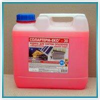 Антифриз для гелиосистем Солартерм-эко-30 5 литров